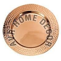 Copper Charger Plate
