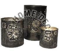 Iron Tea Light Candle Holders