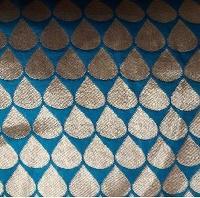Modak Printed Banarasi Jacquard Fabric
