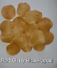 Chilly Rice Papad