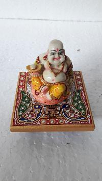 Marble Laughing Buddha Statues