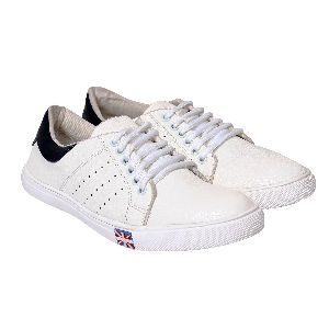 Flippi Canvas White Cool Look Men Shoes