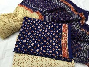 Cotton Printed Suit Dupatta