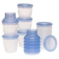Plastic Milk Storage Cans