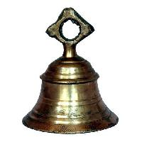 Brass Temple Bell Without Chain