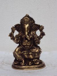 Copper Ganesh Statue