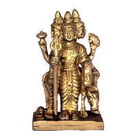Brass Dattatreya Statue