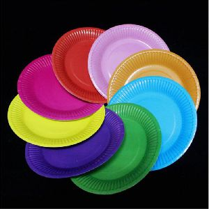 colored paper plates maroon paper plates manufacturer from tumkur