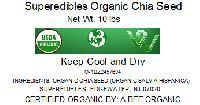 Superedibles Organic Chia Seeds