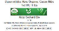 Superedibles Raw Organic Cacao Nibs