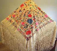 Hand Embroidered Shawls