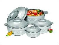 Elegant Stainless Steel Insulated Hot Pot