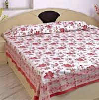 Cotton Double Screen Printed Bed Sheets