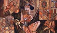 Modern Juda Lady Paintings Code No.135