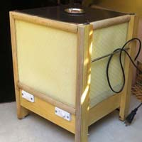 Bedside Table Lamp Model Of Dust Trapper Air Cleaner
