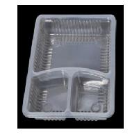 3 Compartment Disposable Meal Tray