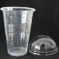 Disposable Plastic Glass with Lid