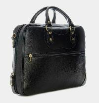 Leather Laptop Cum Office Bag