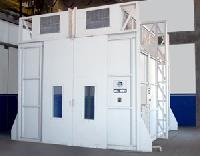 Down Draft Dry Type Paint Spray Booth