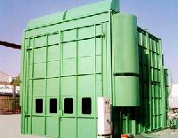 End Draft Type Paint Spray Booth