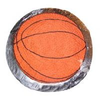 2kg Basketball Shaped Vanilla Cake