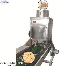 Dry Garlic Skin Remover Machine