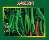 Aayushi Hybrid Green Chilli Seeds