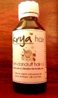 Krya Anti-Dandruff Hair Oil- 100ml