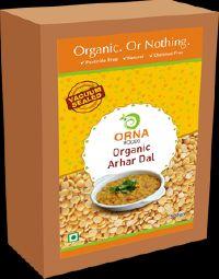 Orna Organic Arhar Dal Vacuum Packed 500g