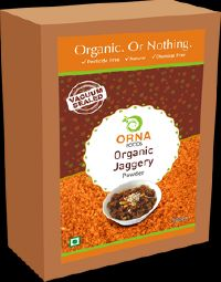 Orna Organic Jaggery Powder Vacuum Packed 500g