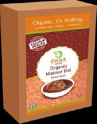 500g Vacuum Packed Orna Organic Masoor Dal