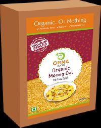 500g Vacuum Packed Orna Organic Moong Dal
