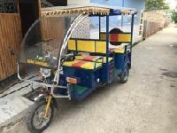 J5 Solar Electric Rickshaw