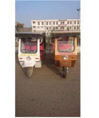 SER-01 Solar Electric Rickshaw