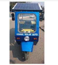L-5 Solar Electric Rickshaw