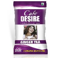 Certified Cafe Desire Instant Ginger Tea Premix - 1 kg