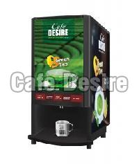 Cafe Desire Green Tea Vending Machine (4 Lane)