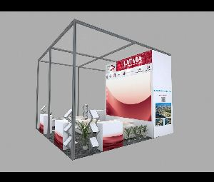 3D Exhibition Stall Fabrication Services