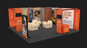Custom Exhibition Stall Designing Services