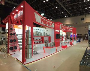 Wooden Exhibition Stall Designing Services