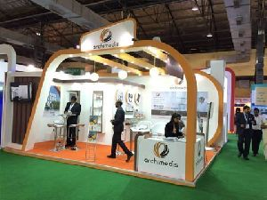 Wooden Exhibition Stall Fabrication Services