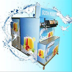 Soda van machine