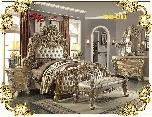 Db-011 Wooden Double Bed