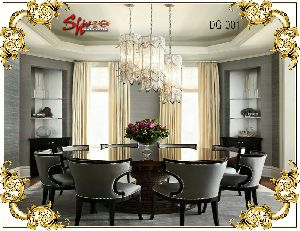 Dg-001 Wooden Dining Table Set