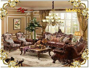 Sa-002 Designer Sofa Set