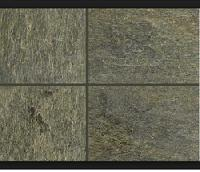 D Green Natural Slate Stone Slabs