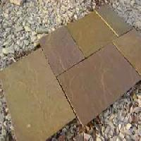 Raj Green Natural Sandstone Paving Tiles