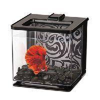 Marina Betta Ez Care Aquarium Black