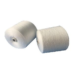 White Polyester Yarn