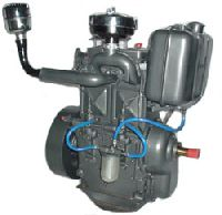 Double Cylinder Gas Engine
